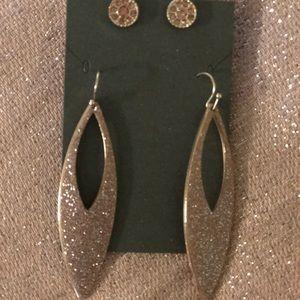 Pink Glaze Earrings